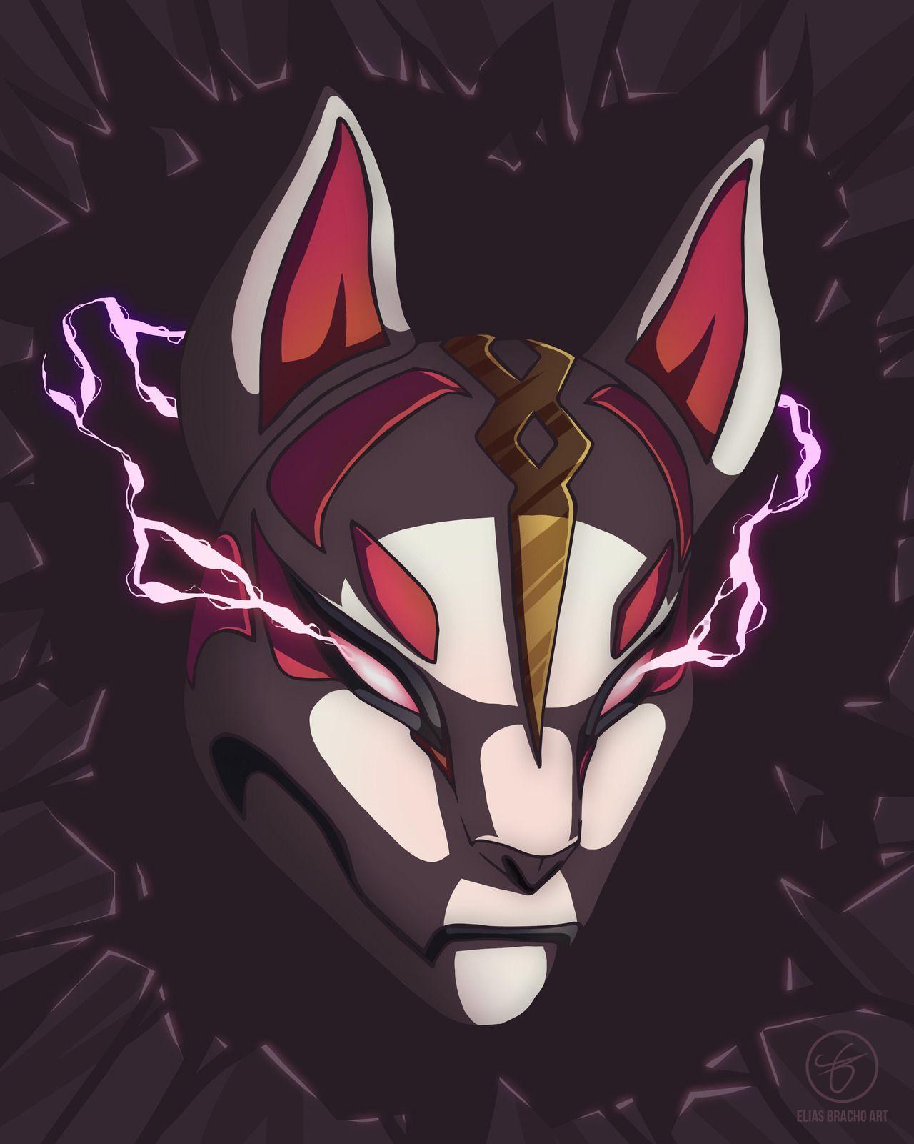 Fortnite Drift S Mask Fortnite Art In 2019 Video Game