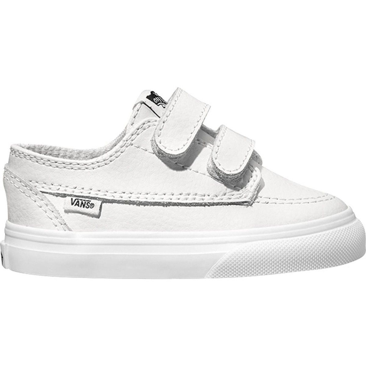 vans toddler white