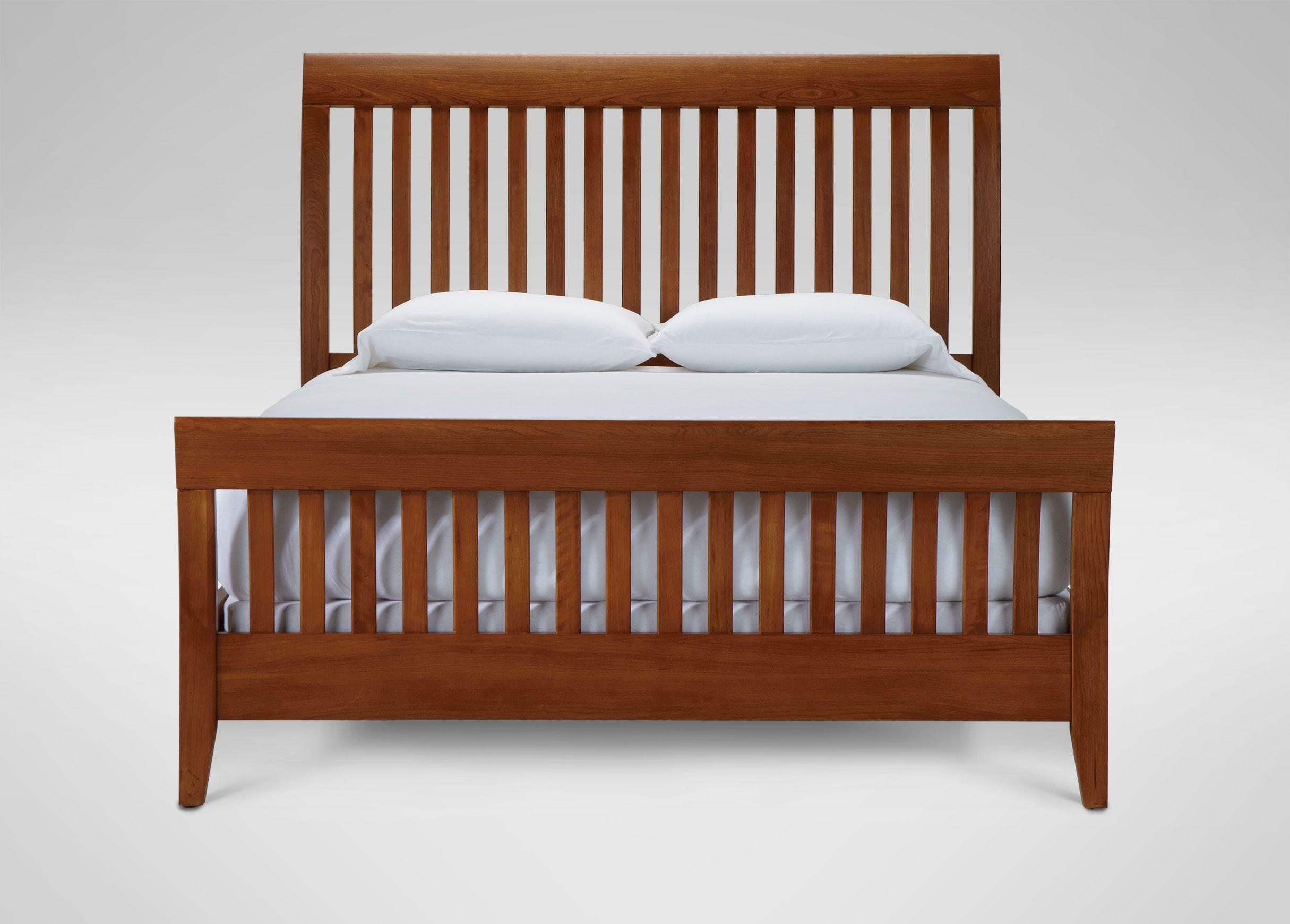In Stock Teagan Sleigh Bed Ethan Allen Twin Bedroom Furniture