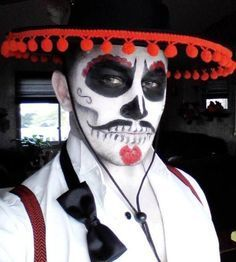 Result Of The Image For The Day Of The Dead Makeup Men Image