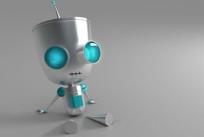 Hd 3d Robot Robot Wallpaper Cool Desktop Backgrounds Hd Desktop