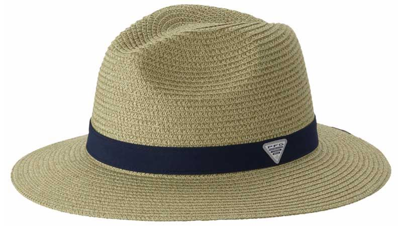 ef9e38eb9f0 Columbia PFG Bonehead Straw Hat in Fossil 1435931