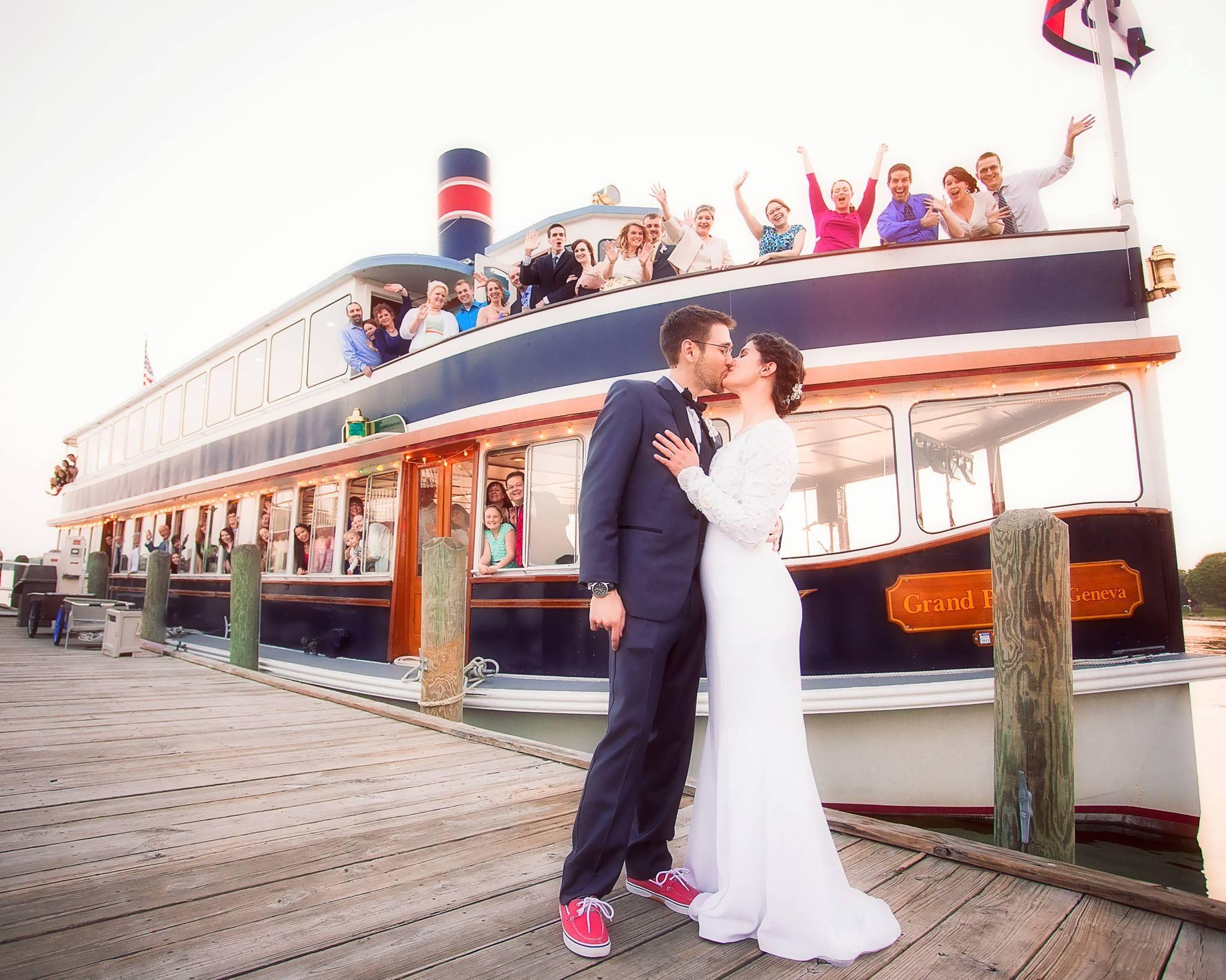 Wedding On A Boat Jordan Imhoff Photography Https M Facebook