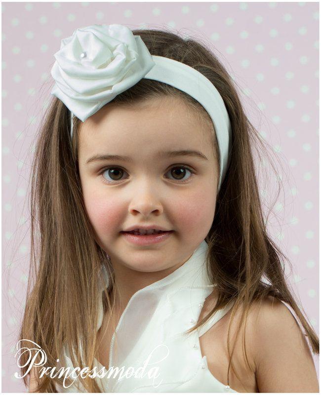 264a15b1f79be (EM-49) Elegantes Stirnband in Champagner! - Princessmoda - Alles für Taufe  Kommunion und festliche Anlässe