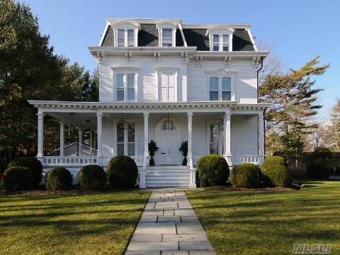 32 Cathedral Ave Garden City Elliman Listing Victorian Homes