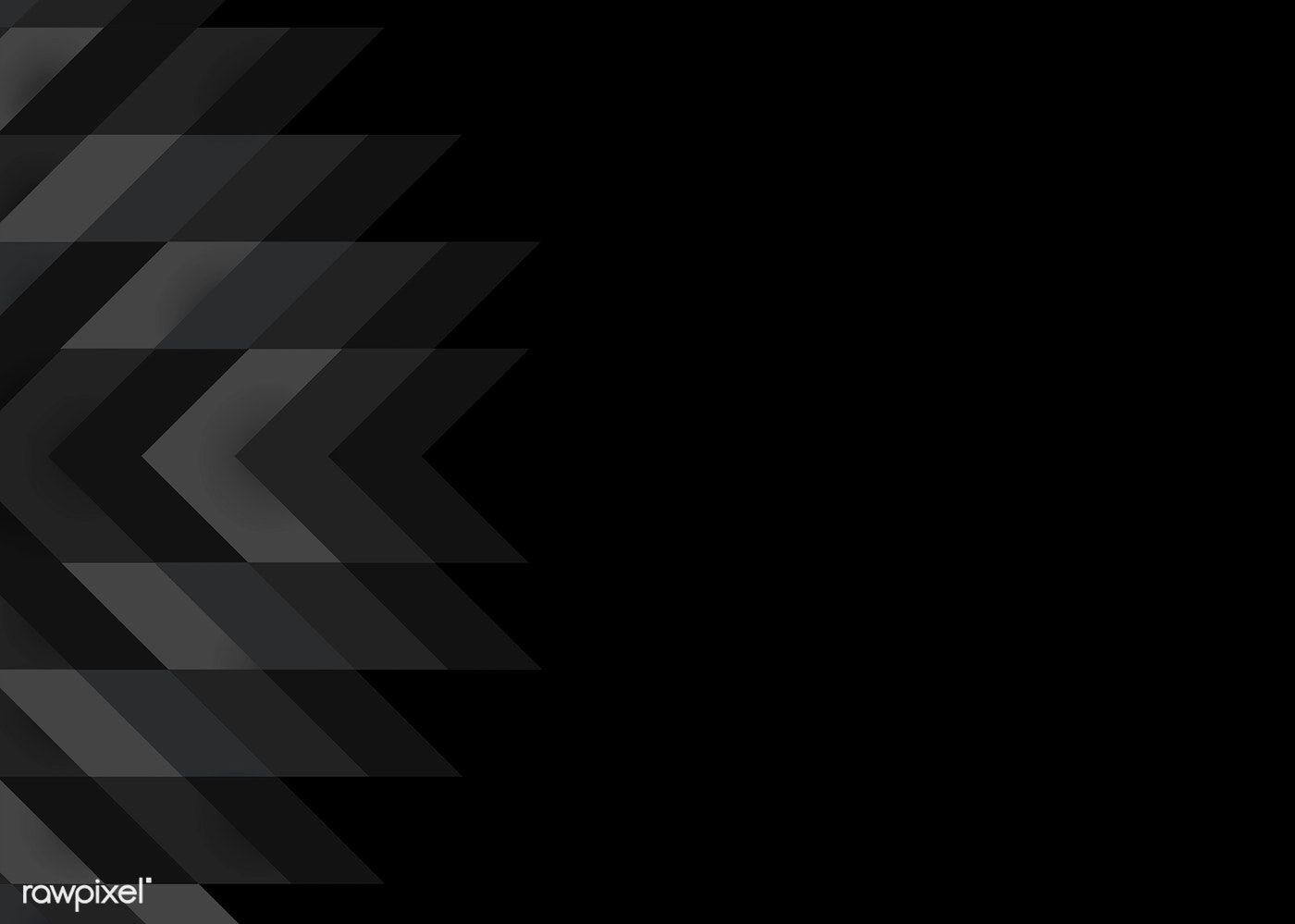 Black Modern Background Design Vector Free Image By Rawpixel Com Lukisan Abstrak Abstrak Lukisan