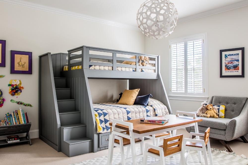 Hillborough 1 Nest Design Co Inc Bunk Beds Built In White