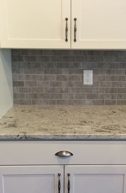 Carrara Marble Subway Tile Backsplash