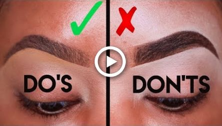MAKEUP FOR BEGINNERS: EYEBROW DOS AND DONTS! | KYRA KNOX