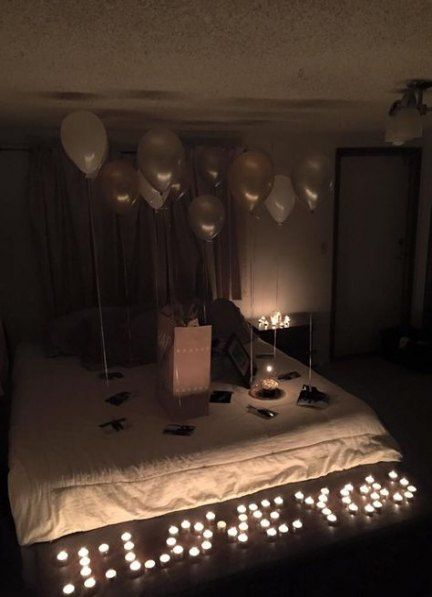 42 Ideas Birthday Surprise Boyfriend Ideas Girlfriends Birthday Surprise Boyfriend Valentines Bedroom 35th Birthday Gifts