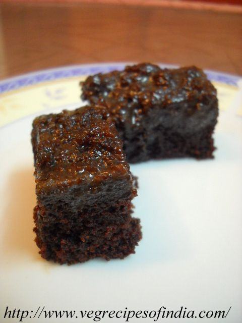 Eggless Chocolate Cake Recipe, How to make Eggless ...