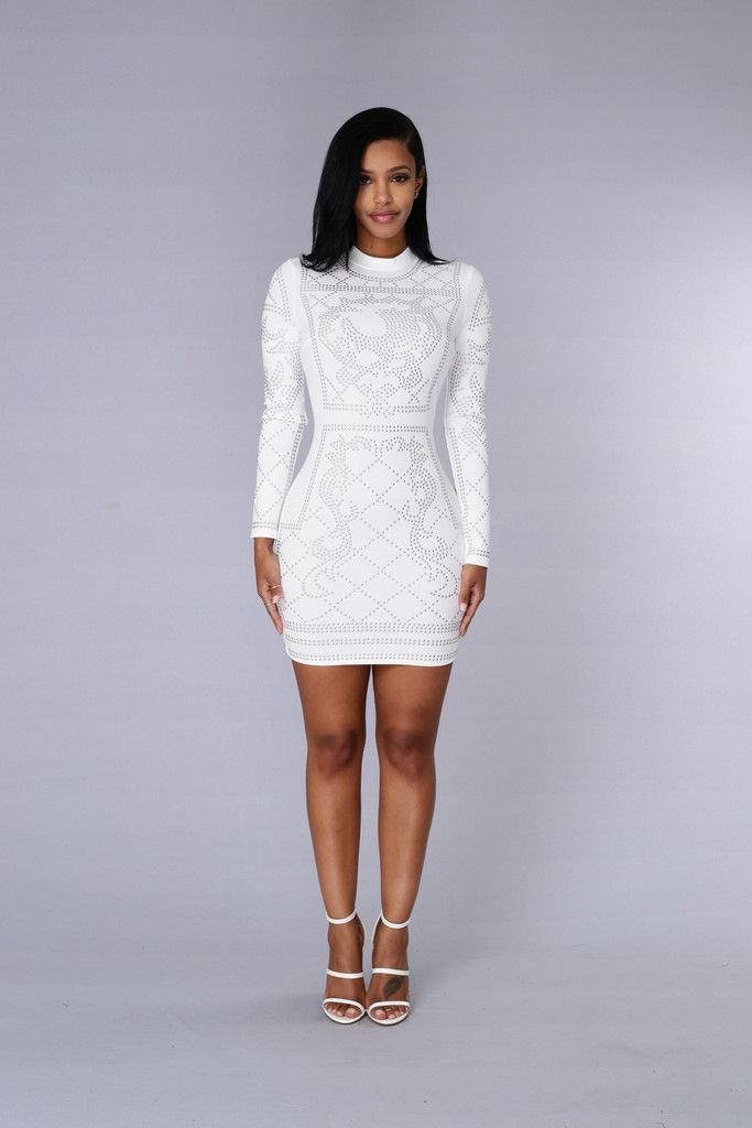 Royalty Dress , White