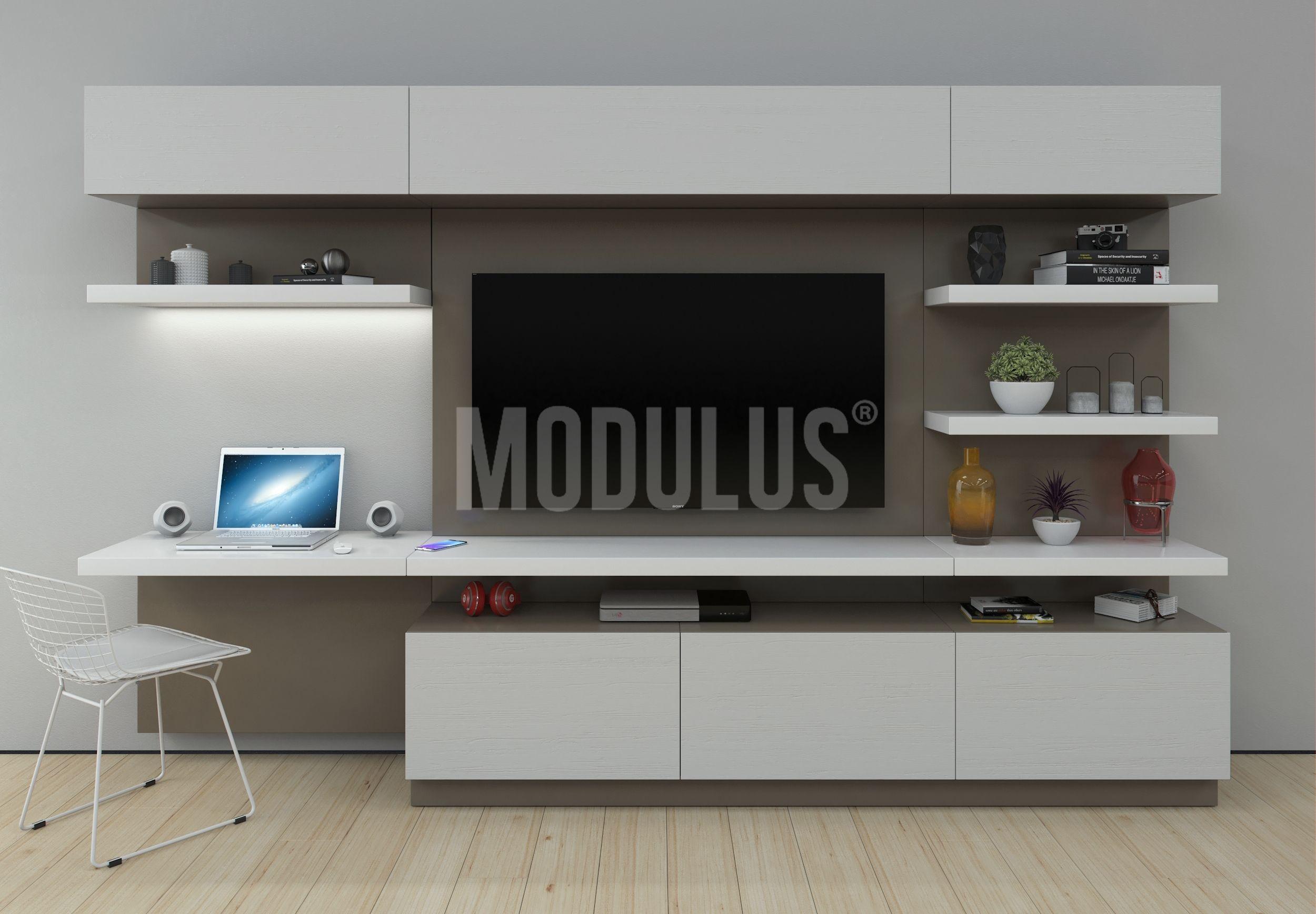Sistema mural 37 oficina en casa en 2019 muebles para for Diseno de muebles de oficina modernos