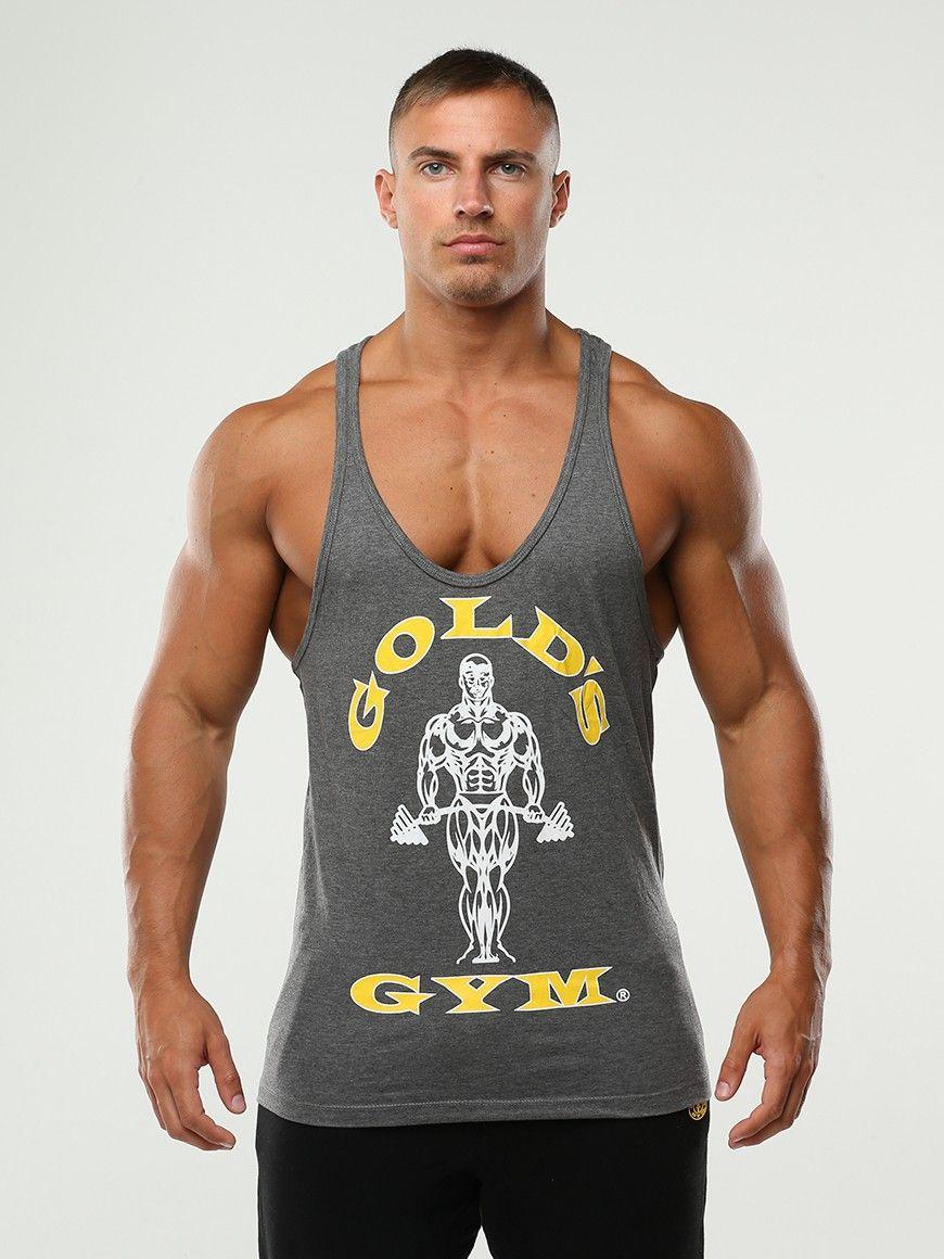 58a298b6ae4e3 Golds Gym Muscle Joe Stringer Vest