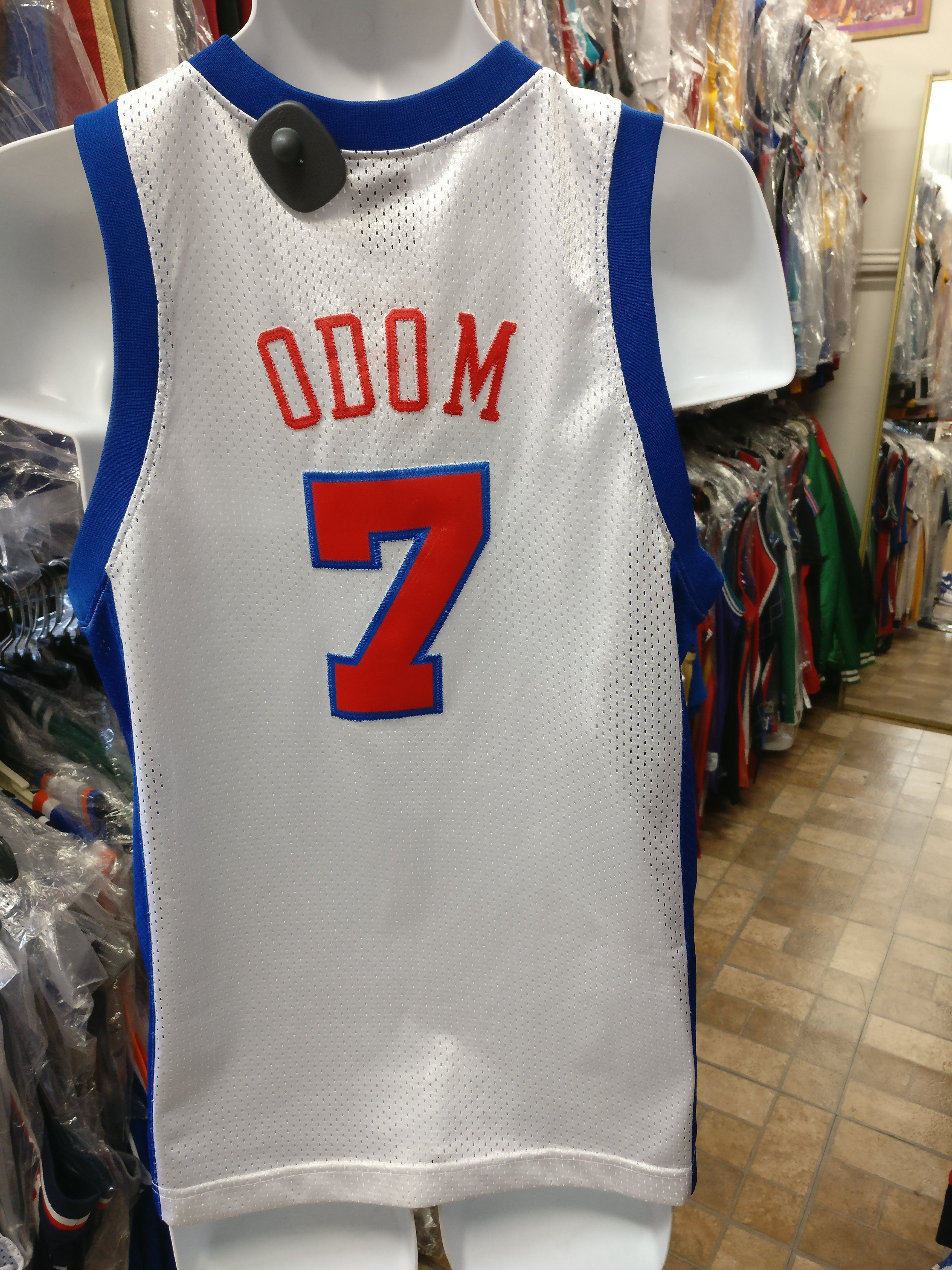 Vintage  7 LAMAR ODOM Los Angeles Clippers NBA Nike Jersey YXL ... 5c1707cd8