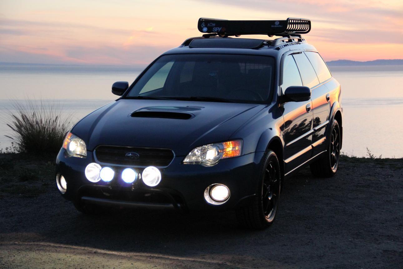 2005 2009 Subaru Legacy Outback Light Bar Illuminate The Subaru Legacy Subaru Outback Subaru Outback Offroad