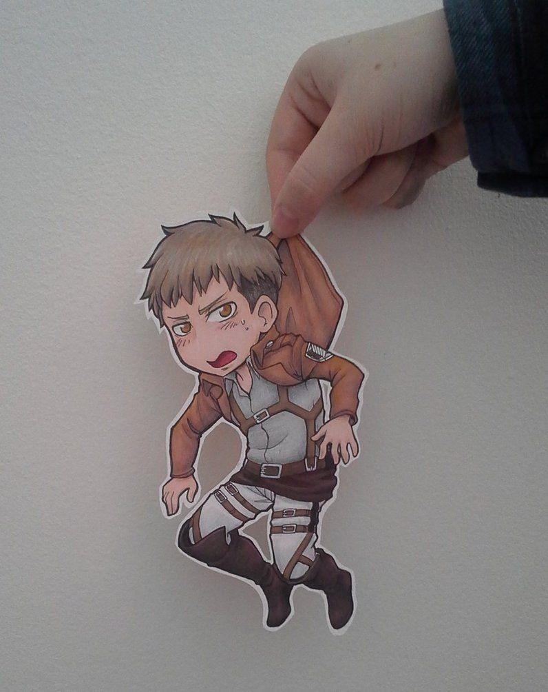 jean kirschtein paperchild by deiface shingeki no kyojin