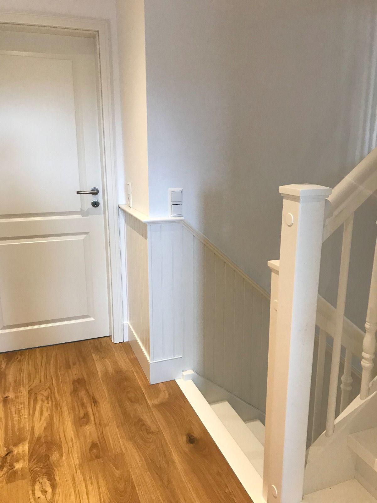 Treppenverkleidung Im Schwedenstil Treppenverkleidung Wandpaneele Treppe