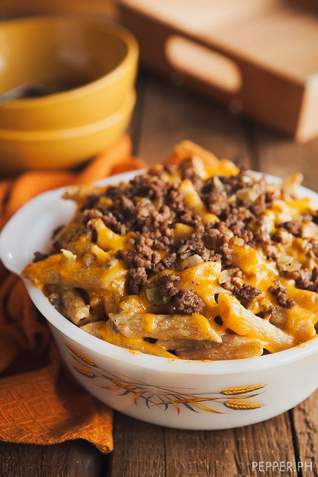 The Next Best Thing to Mac & Cheese: Taco Pasta Bake
