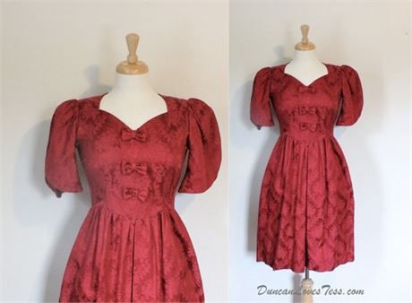 Damask Party Dress