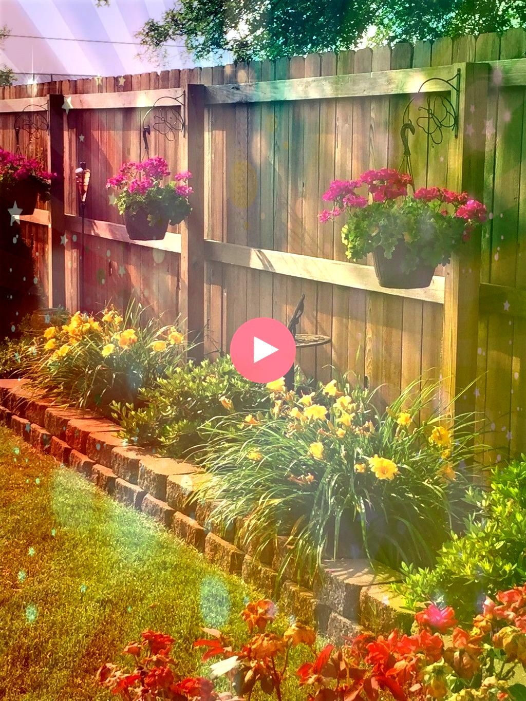 Amazing Garden Fence Decorating Ideas To Follow 48 Amazing Garden Fence Decorating Ideas To Follow48 Amazing Garden Fence Decorating Ideas To Follow How to make inexpensi...