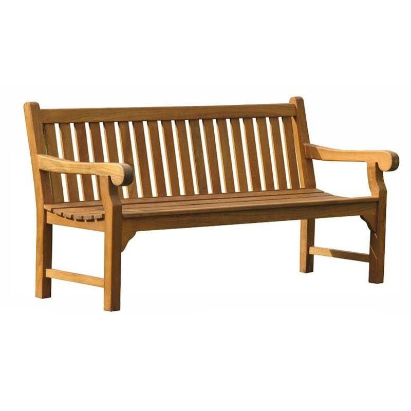 Queensbury 4 seat Teak Bench 180cm - TK-B8 TK-B8 - Home And Garden ...