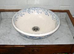 vasque de salle de bain décorée style 1900 retro DSCN6490 | Salle de ...