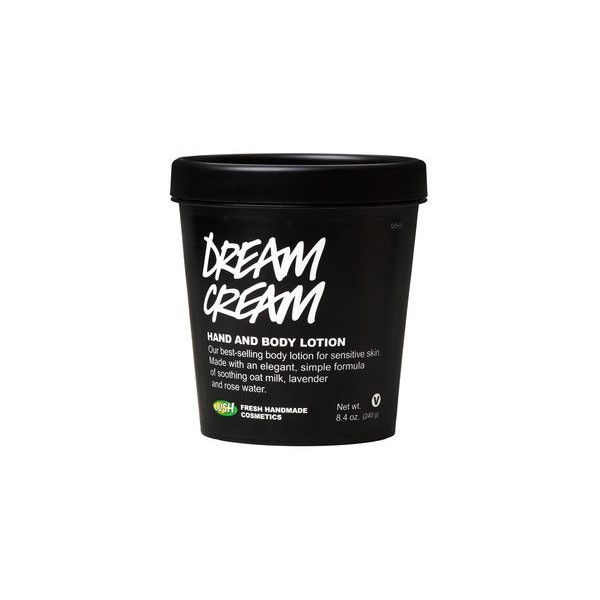 Dream Cream (235 SEK) ❤ liked on Polyvore featuring beauty products, bath & body products, body moisturizers, fillers, beauty, products and cosmetics
