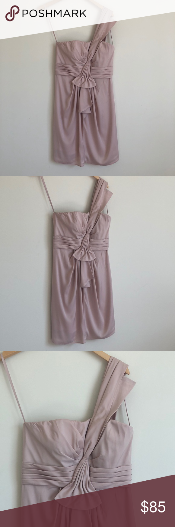 Bcbg Pale Pink Dress Beautifully Made Perfect For Any