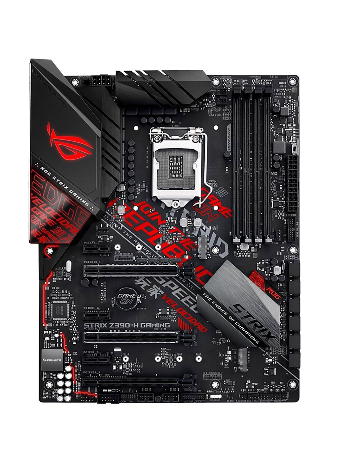 Asus Rog Strix Z390 H Gaming Asus Rog Gaming Desktop