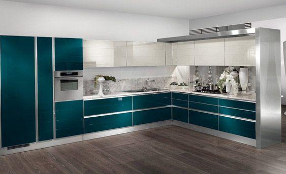 Cocinas con islas modernas cocinas modernas decoraci n for Decoracion cocinas modernas
