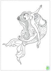 barbie meerjungfrau färbung barbie malvorlagen malvorlagen