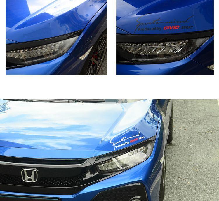 Honda Civic Vinyl sticker decoration in 2020 Honda civic