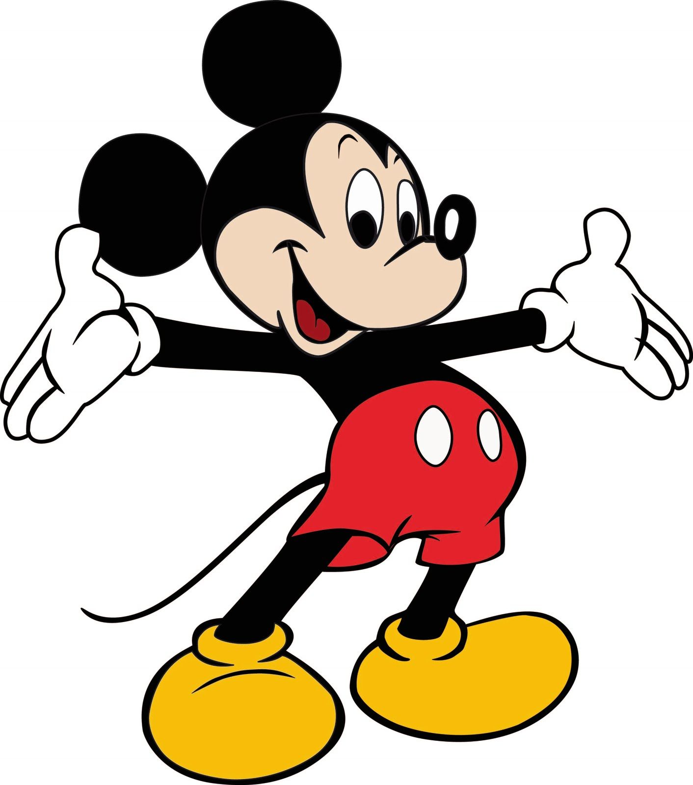 Mickey mouse high resolution. Clipart free large images