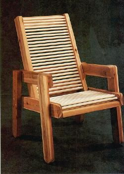 Cedar Patio Chair Plans Outdoor Furniture Pinterest Patio