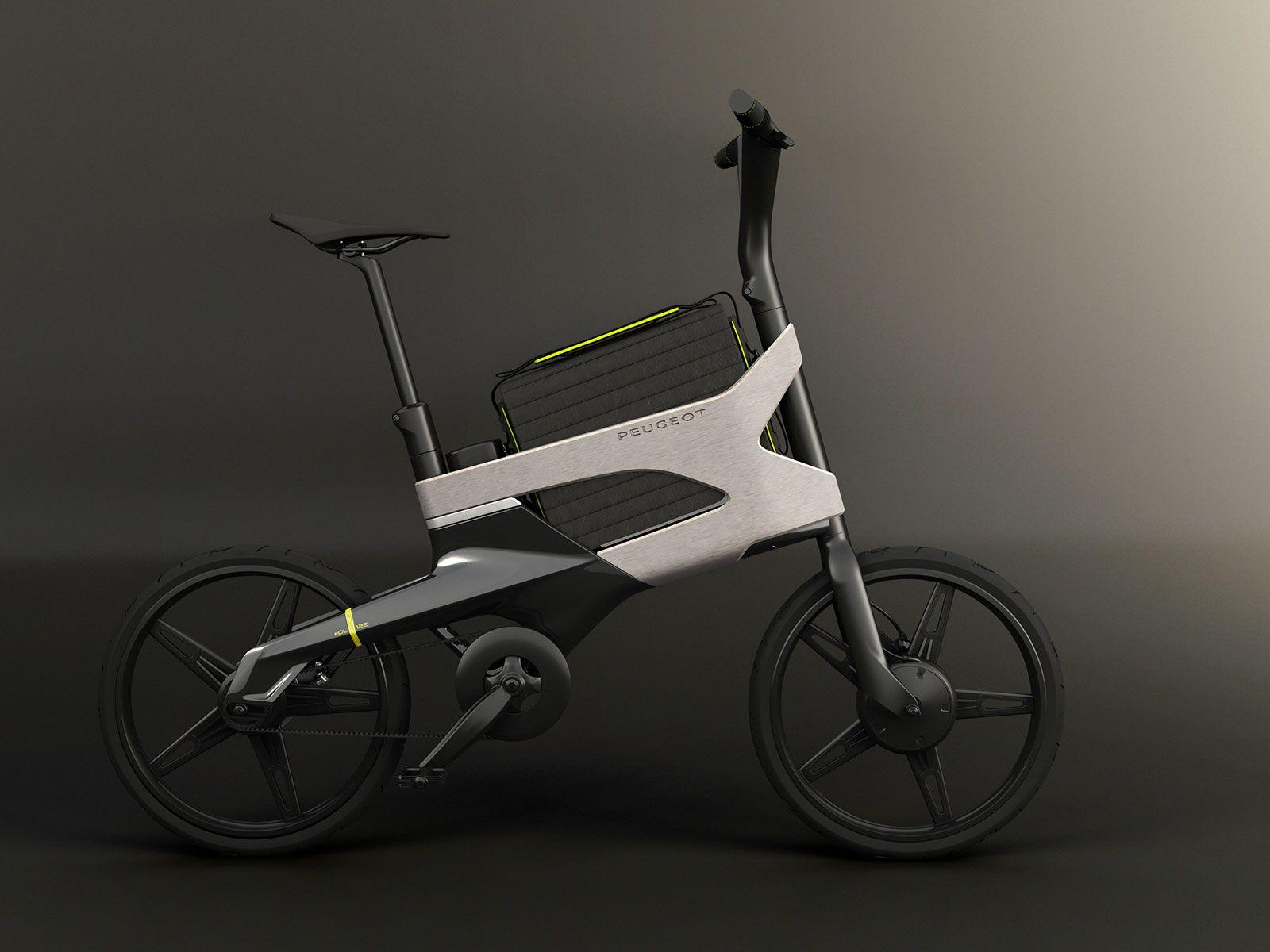 Peugeot Concept Bike Edl122 Velosiped Avtomobili Samokat