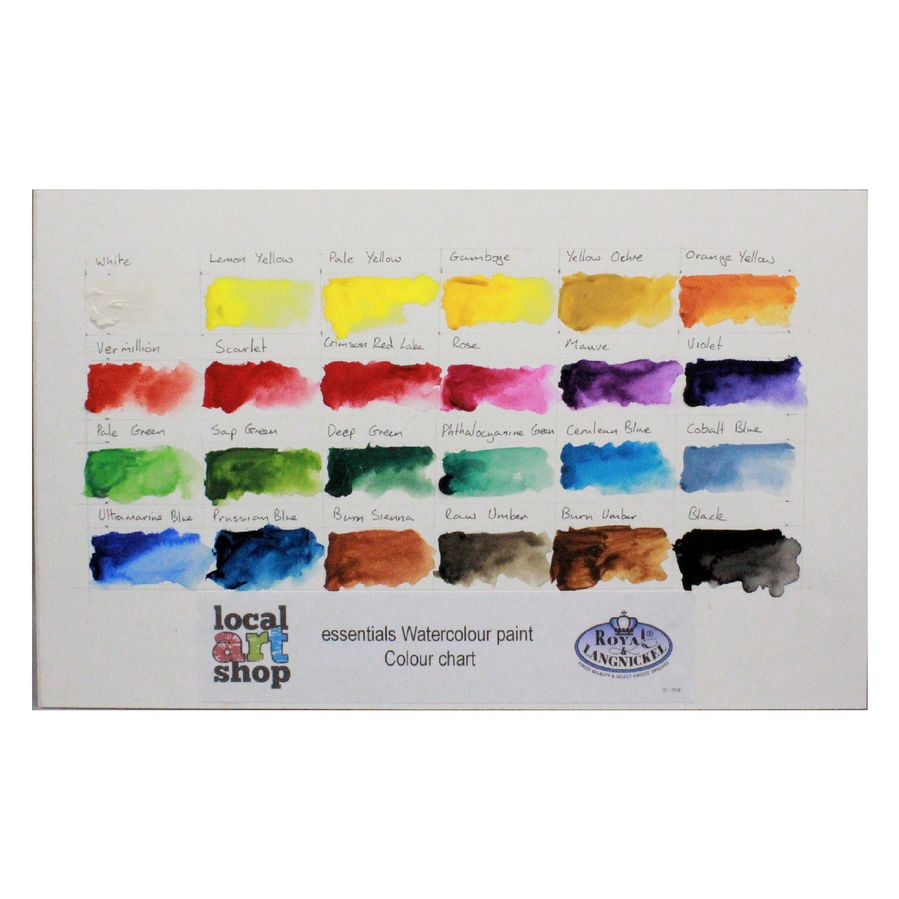 Royal Langnickel Artist Paint 24 Pc Set Watercolour Painting