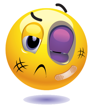 black eye emoji | Free Clip Art 1 | Emoticon faces, Emoji, Smiley emoji