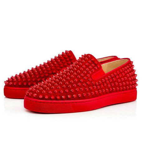 de6f418734a Roller-boat Men s Flat - Red Bottom Christian Louboutin Shoes