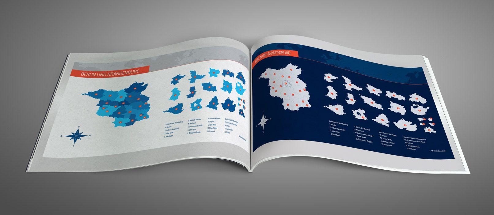 Landkarte Brandenburg Mit Landkreisen Und Berlin Landkarte