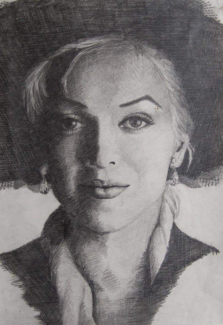 Marilyn Monroe Marilyn Monroe Photo Sketch Marilyn Monroe Photos