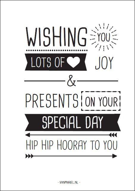 A6 | Hip hip hooray to you!