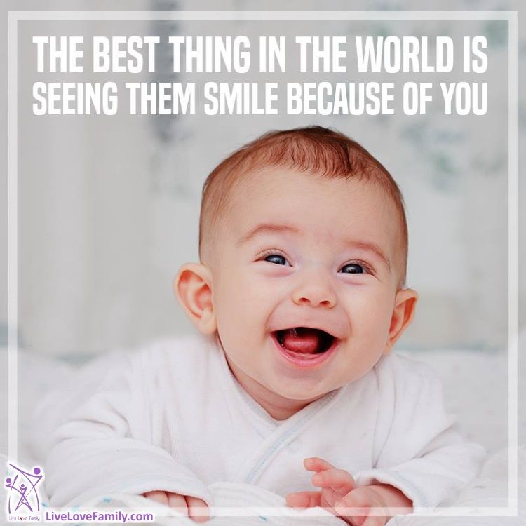 The Best Thing In The World Is Seeing Them Smile Because Of You I Love My Son Smile Because Family Travel