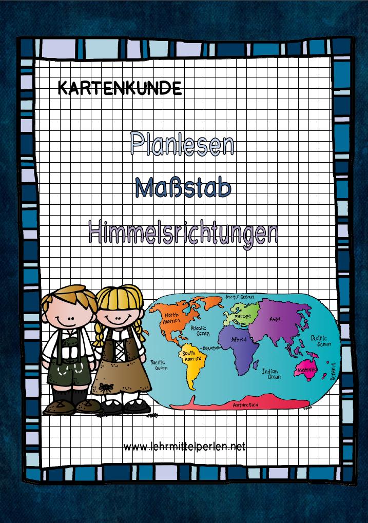 Kartenkunde Für Die 3 4 Klasse Iskola Teaching School és