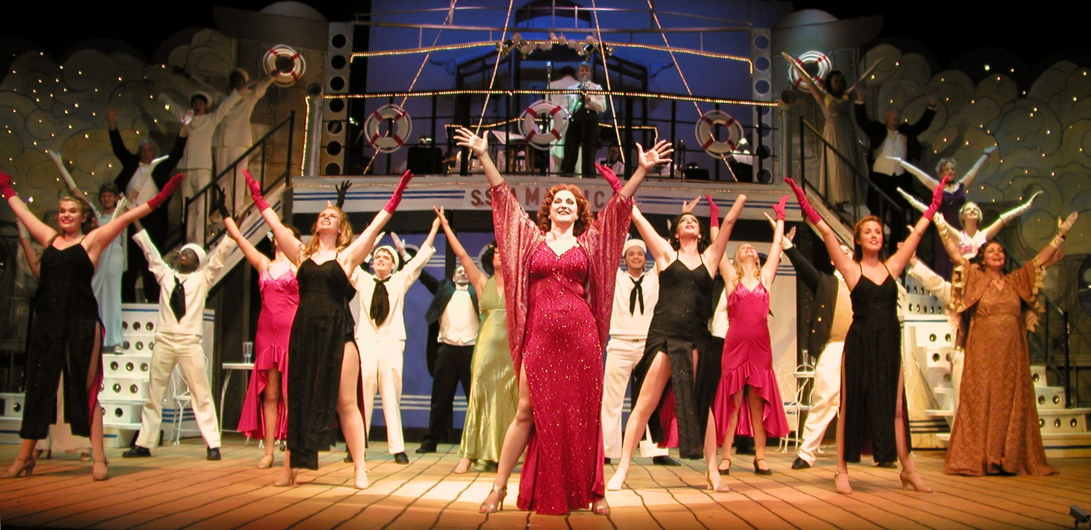 Anything Goes the musical at Pensacola State College