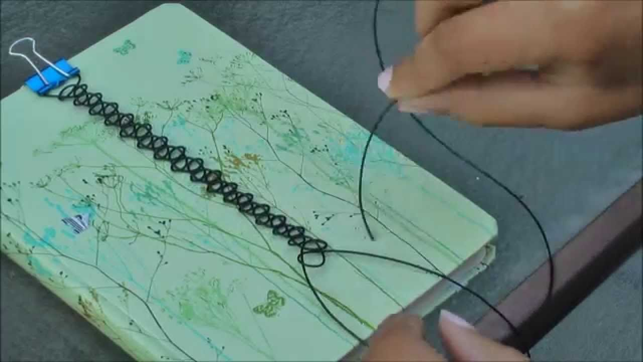 Fantastic video showing how to make stretch plastic chokers my