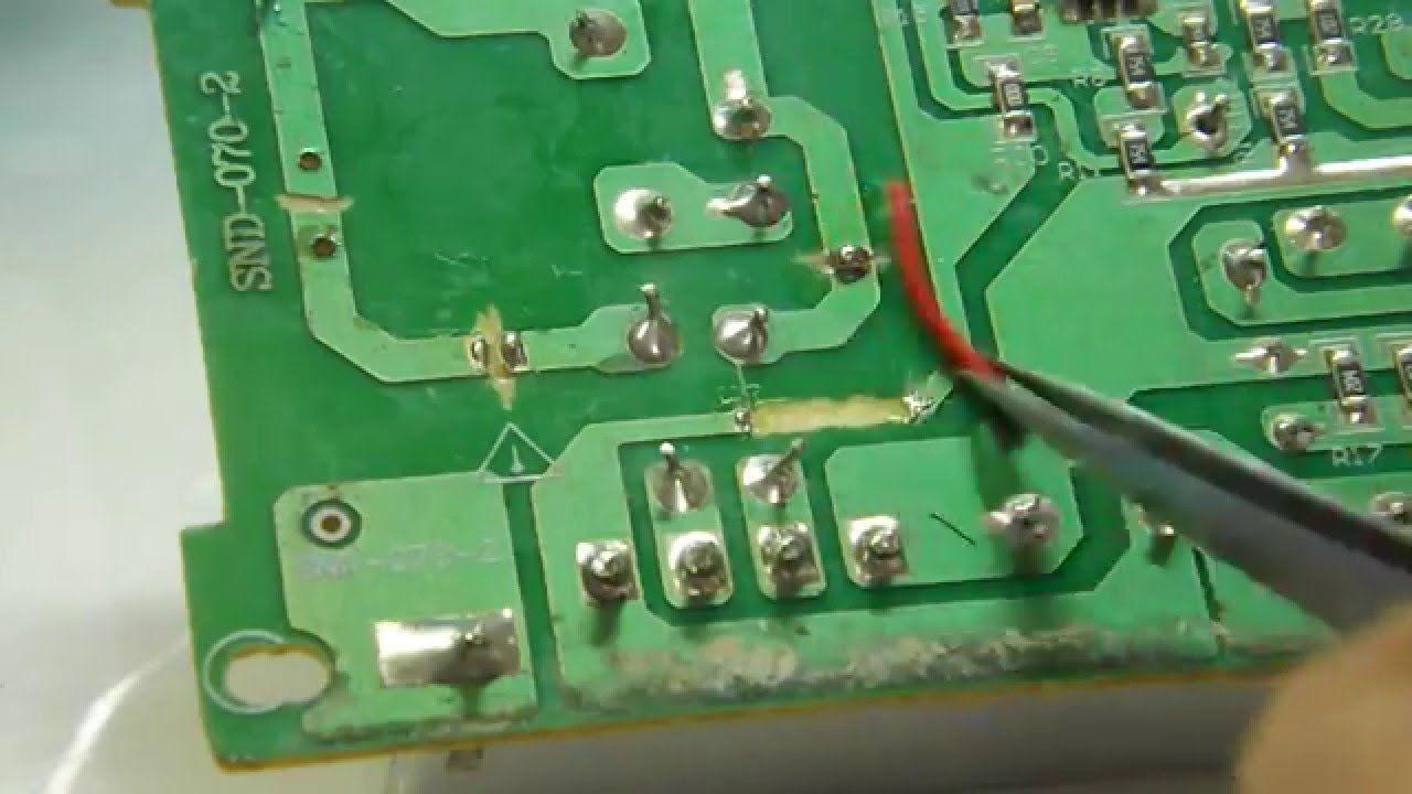 Circuito Eletronica : Dica de eletrônica como refazer trilha em circuito impresso 1 2