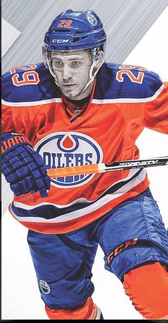 Leon Draisaitl Hockey Posters Edmonton Oilers Hockey Edmonton