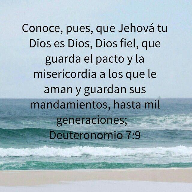 Feuteronomio 7:9
