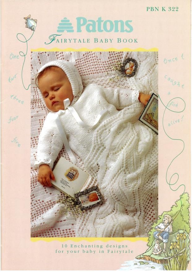 Patons 322 Fairytale Baby Book | Knit Baby Bks-Archive | Pinterest